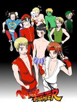 Hetalia Fighteeerrrr by BanoraWhite