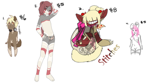 Adoptable adopt resell by LoveOverdose