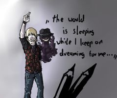 dont keep Dreaming by This-Shattered-Mind