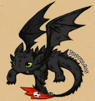 HTTYD: Toothless by Naiconiku