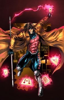 Gambit colors by nahp75