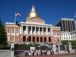 Massachusetts State House by uglygosling