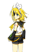 Kagamine Rin 6 by maripexi
