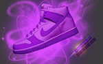 nike dunks purple by iJamZo