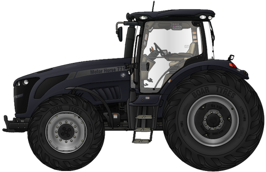 Motor Horse 771 Tractor by AC710N87