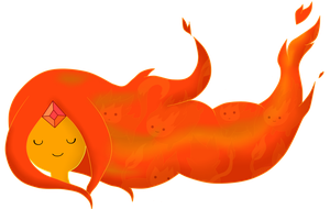 Flame Princess hair by AndiScissorhands