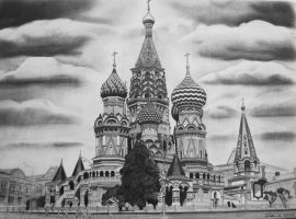 Saint Basil's Cathedral by Tomdal