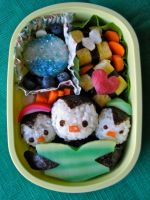 Bento: Carol of the Penguins by snoopyphantom