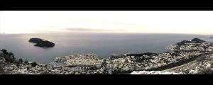 Dubrovnik From Mount SRD by Shaystyler