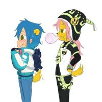 Dmmd Fun: Maggie and Edward by Shellybelly95