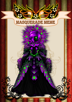C-D : Masquerade Madness by Zap-Zap-Forever