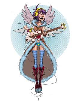 Guitar Angel Noodle by Otagoth