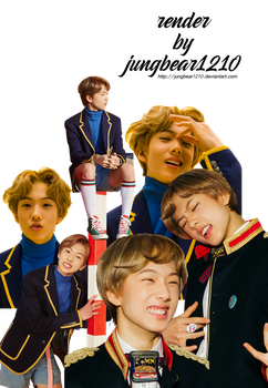 Nctjisung Png by jungbear1210