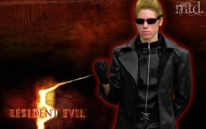 Wesker Cosplay by Meioh-Sama
