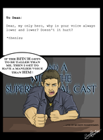 SPN Q n' A: Low Voice by SilentImagery