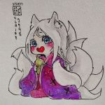 Chibi Ninetails Viktor by Claire1998
