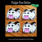 Pudgie Poro Stickers by SPPlushies