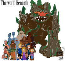 The world Beneath: Characters by Darkofmud