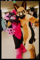 Awesome Duo by FurryFursuitMaker