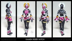 Kamen Rider Witch by dezet08