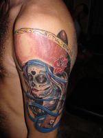 day of the dead girl tattoo by charlesbronson777