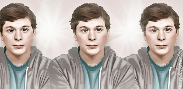 Michael Cera by nenenene