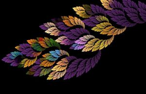 Fractal leafs by UmbrellaFighter
