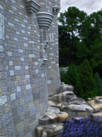 Castle brick close-up by WDWParksGal-Stock