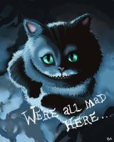 Cheshire Cat by AgentHojo