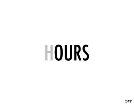 Hours by VisualTextProject