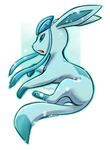 Glaceon by Eternity-Zinogre