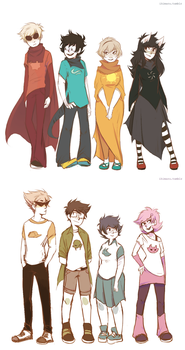 Kids Heights by ikimaru-art