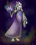 Asriel Dreemurr by CaptainDani