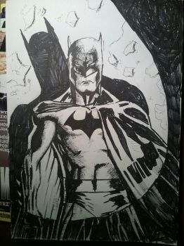 Batman by fkartwork