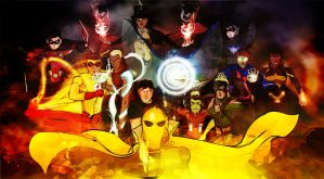 Young Justice - Fate of the Future by jixustudios
