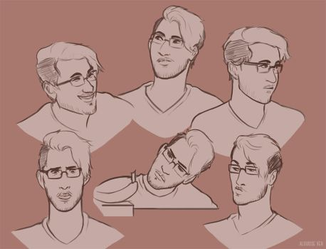 Sketches of the Markimoo by Alouisse-Ver