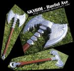 Rueful Axe from SKYRIM by Dj3r0m