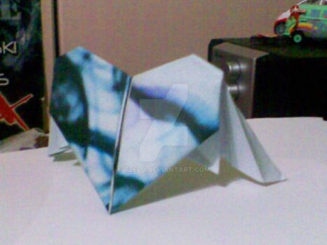 I give you my Origami Heart by Tzelo