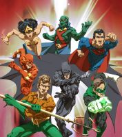 JusticeLeague by KevinHarrell