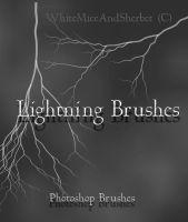 Lightning Brushes by WhiteMiceAndSherbet