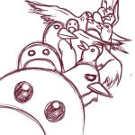 Too Many Birds by AGX-StormIReaper