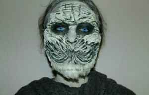 White Walker Special FX Make Up by CrissabbathPaintArt
