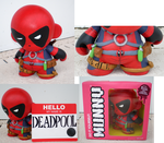Deadpool Munny Commission by saaio