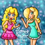 Happy new year 2016 by ninpeachlover