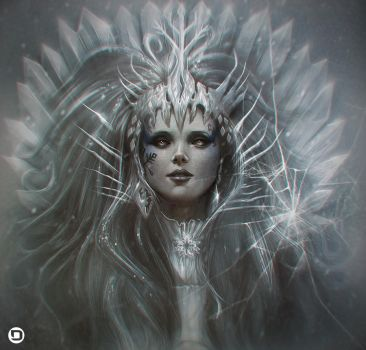 The Ice Queen by dannykojima