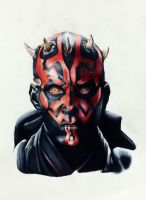 Darth Maul by NickMcCurdy