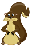 Squir-otter by twinx85