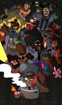 FNAF Protags by mellow-monsters