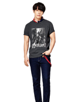 Super Junior Donghae SPAO png by hyukhee05