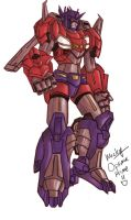 optimus prime redesign 2 by micky86